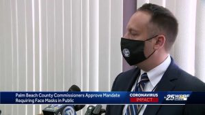 Commissioners vote to mandate masks in Palm Beach County