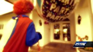New evidence in Wellington killer clown case