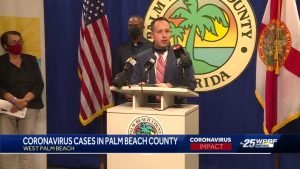 Palm Beach county leaders provide update on COVID-19