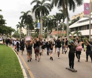 Protests continue in Palm Beach County and Treasure Coast following death of George Floyd