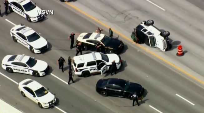 Police chase comes to an end in Palm Beach County