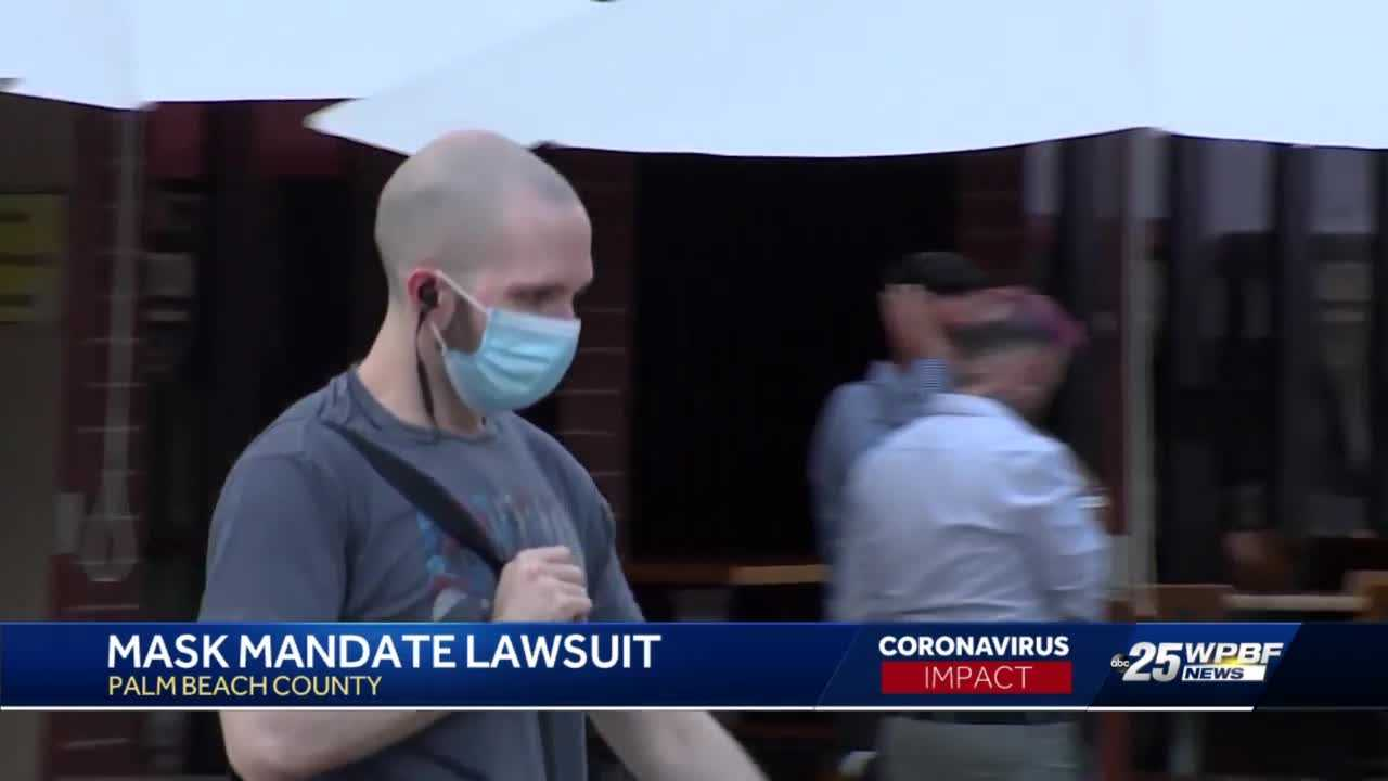 Palm Beach County responds to mask mandate lawsuit