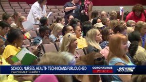 PBC school nurses told they will be furloughed