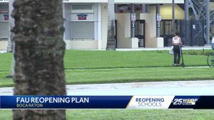 FAU officials preparing campus community for in-person classes