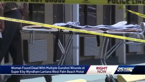 Woman found shot dead in a Lantana hotel room