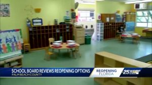 Palm Beach Co. school board discusses reopening schools