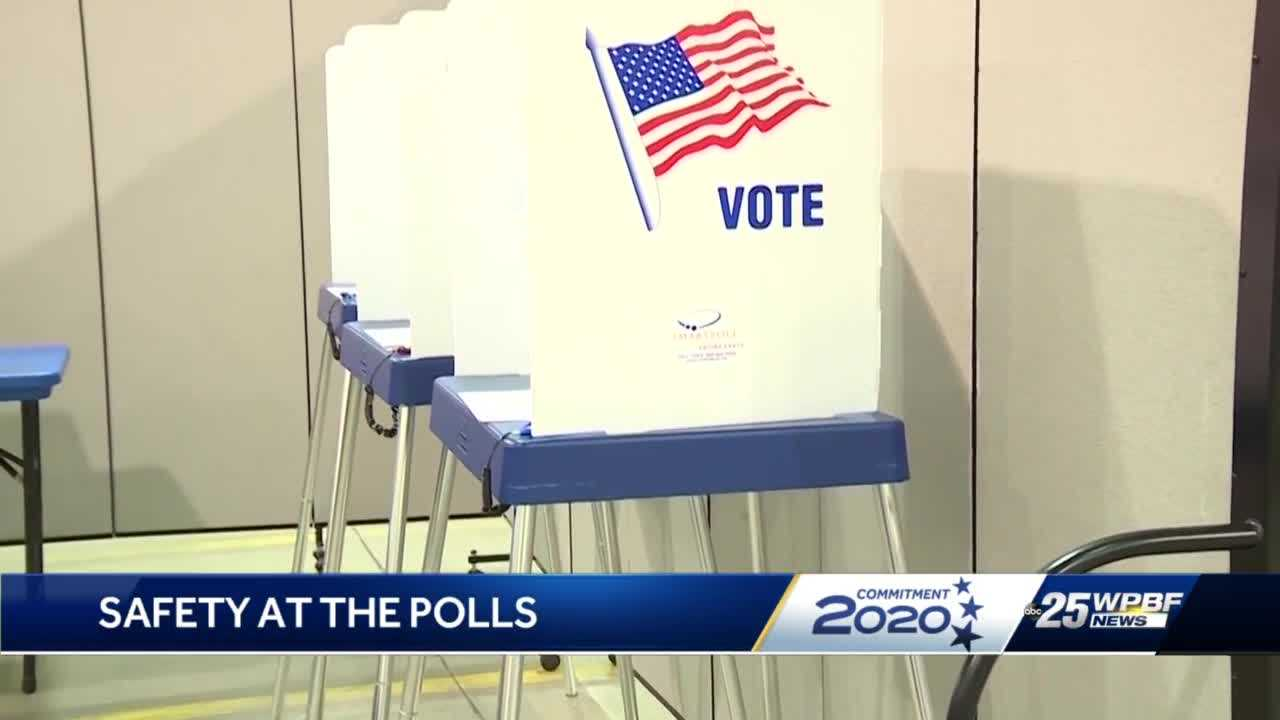 Staying safe at the polls