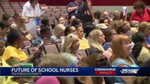 PBC school nurses share their concerns about furloughs