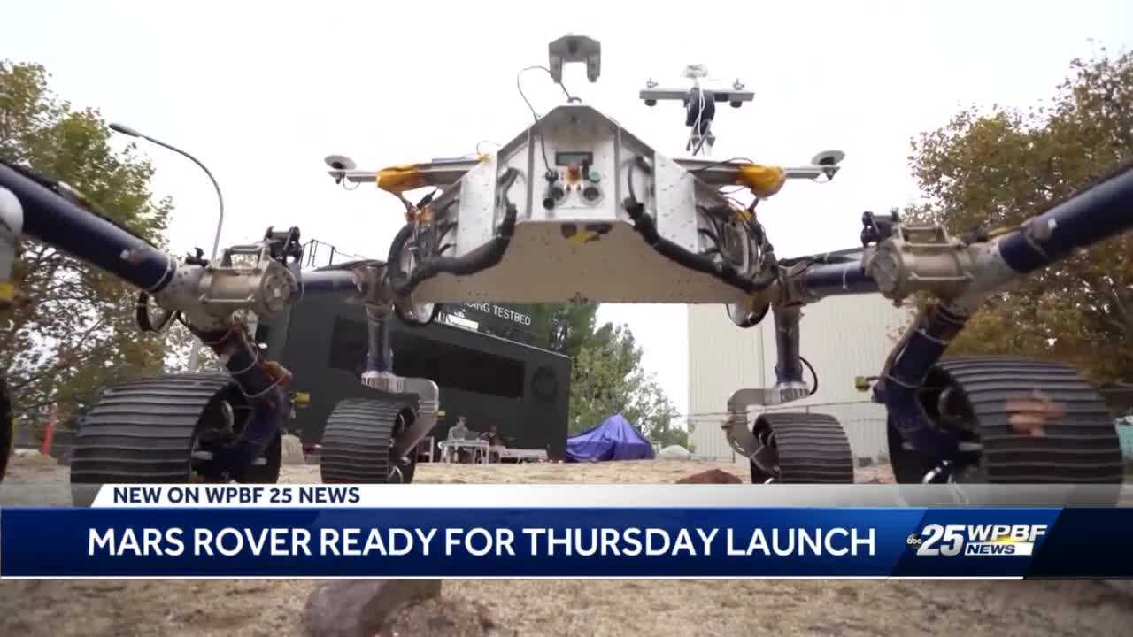 West Palm Beach company supporting the NASA rover mission