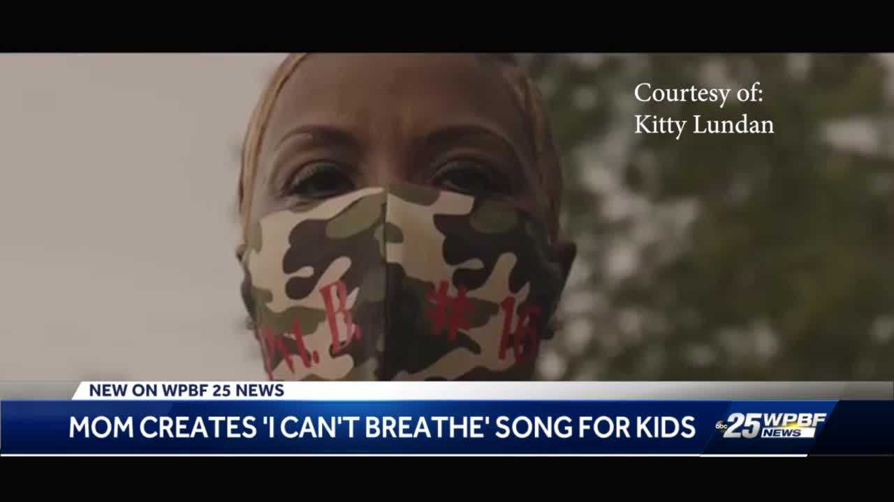 West Palm Beach mother writes song on racial injustices