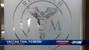 Clinical trial for COVID-19 vaccine starts in Palm Beach County