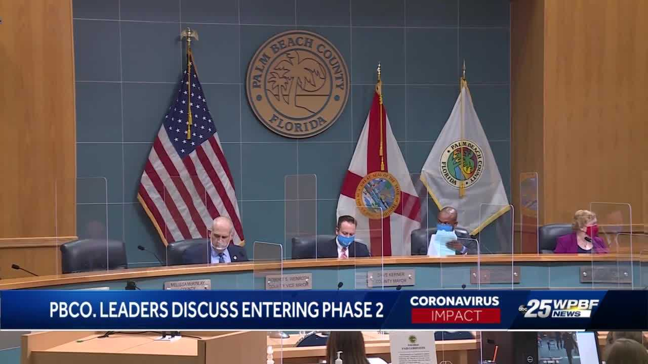 Palm Beach County waits to move to phase two