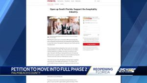 Thousands sign petition for PBC to move to full Phase Two
