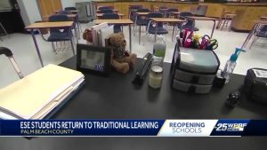 Palm Beach County ESE students head back to the classroom