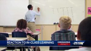 Palm Beach County teachers and parents react to school reopening plans