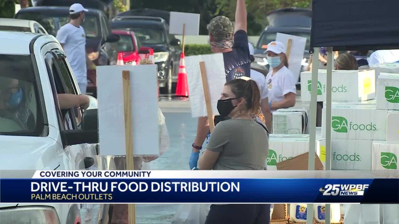 Demand for food assistance due to COVID-19 in Palm Beach County remains