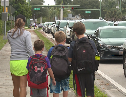 Here's what some students and parents are saying about the first day back in school buildings