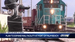 Port of Palm Beach receives grant for freight rail improvements