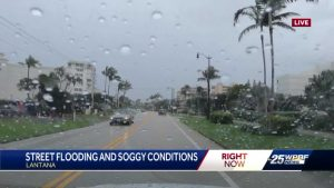 More soggy weather predicted in Palm Beach County