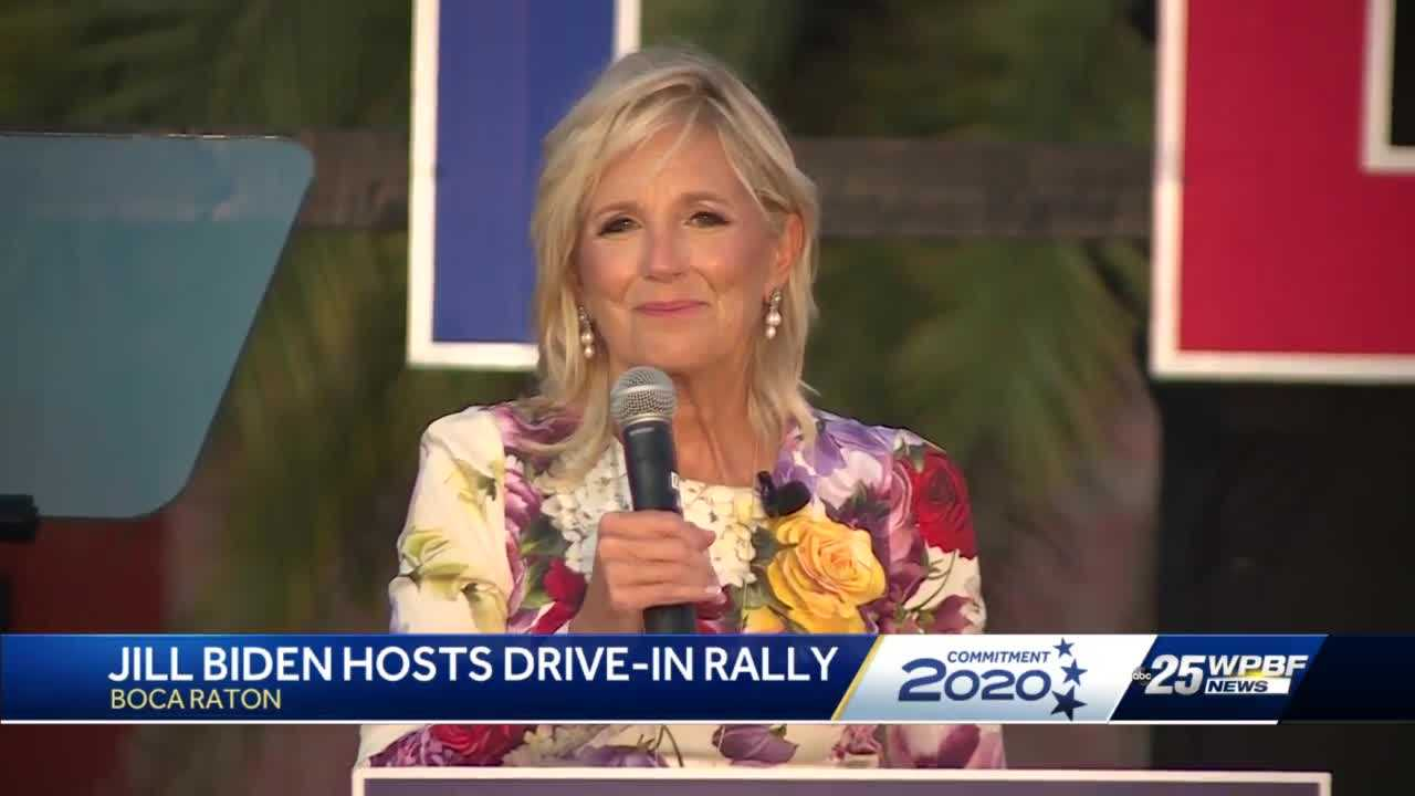 Dr. Jill Biden headlines 'Women for Biden' rally in Boca Raton