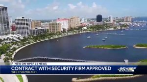 West Palm Beach commissioners approve multi million dollar security contract