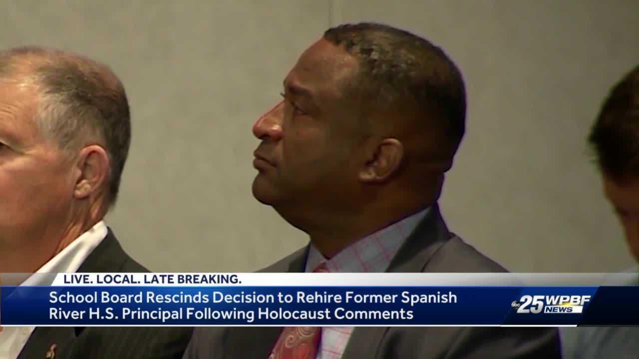 Palm Beach County School Board rescinds decision to rehire Boca Raton principal