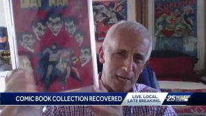 Stolen comic book collection returned