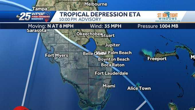 Parts of Palm Beach County