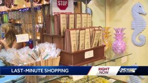 Specialty shops open for a busy Christmas Eve