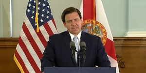 Gov. Ron DeSantis holds news conference in Delray Beach