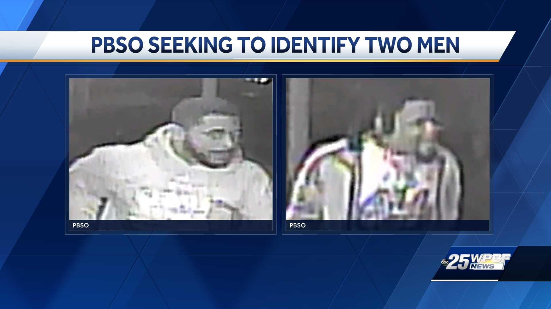 PBSO seeking to identify two men in connection with Boynton shooting