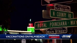 Town of Palm Beach had been preparing for vaccine for months
