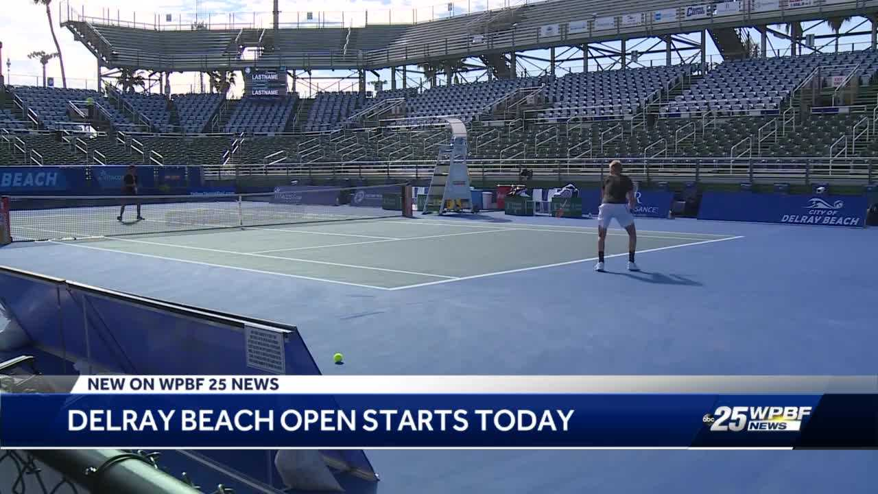 Delray Beach Open well underway amid pandemic