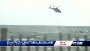 Pilot identified after plane crashes near Boynton Beach Inlet