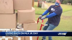 Hundreds of volunteers dedicate MLK Day to giving back