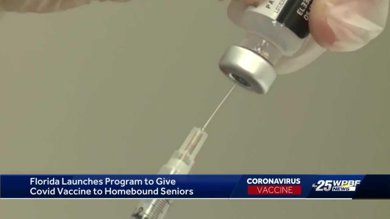 Governor pledges COVID-19 vaccines for homebound seniors