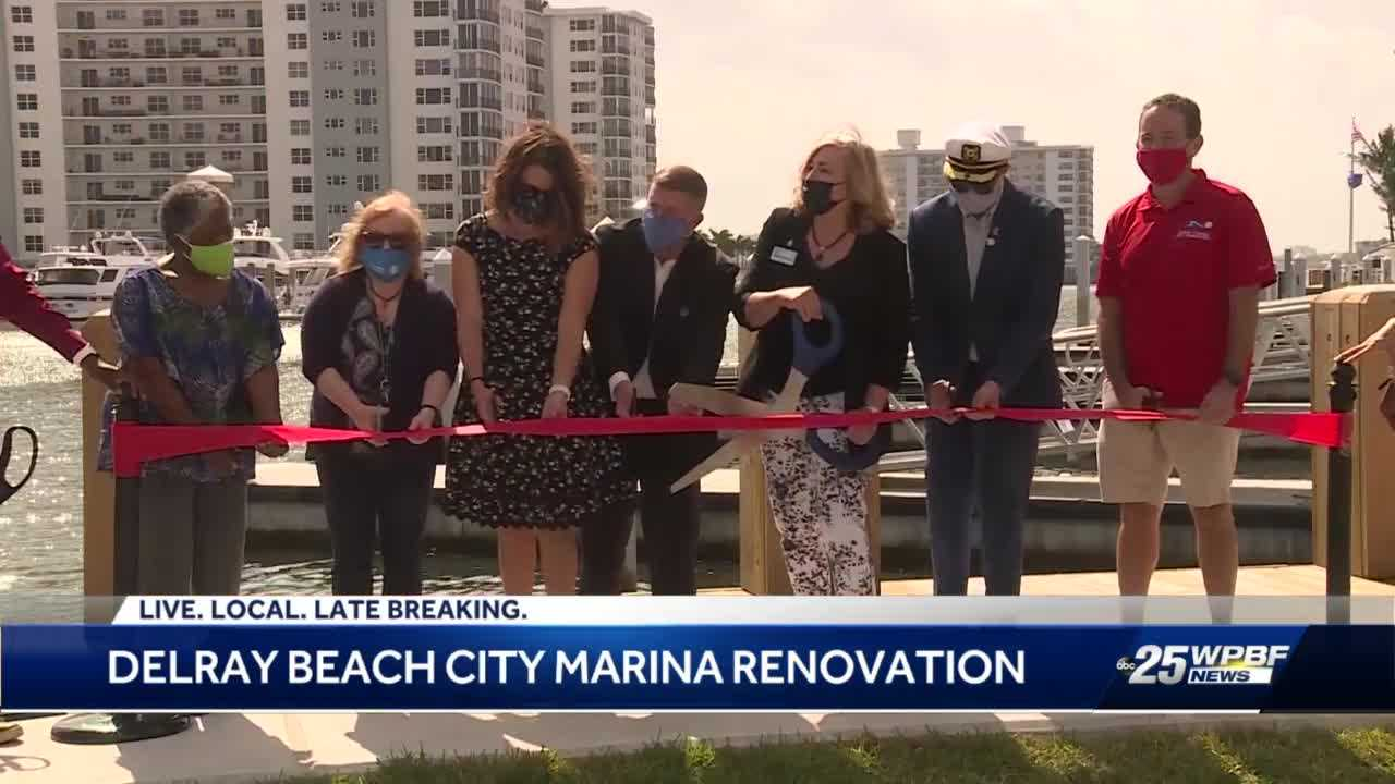 City Marina gets makeover and taller sea wall