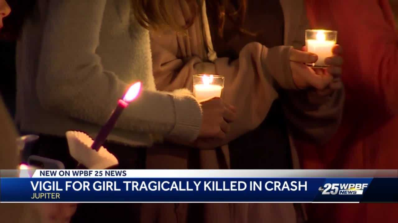 Candle light vigil held for 13-year-old Lily Kleen
