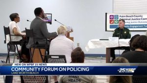 Community forum on policing held in Lake Worth Beach