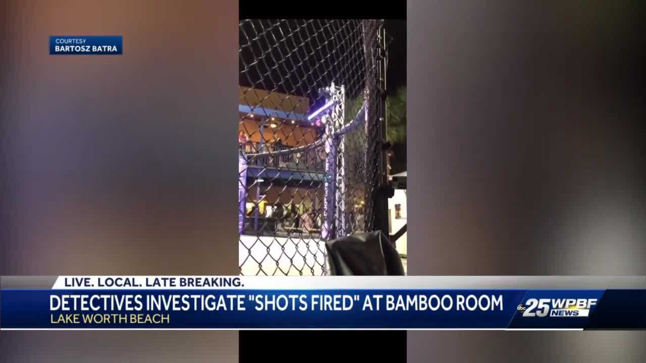 Shots fired at MMA event at the Bamboo Room