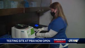 Clinic offering COVID-19 testing at PBIA now open