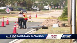 Riviera Beach worker dies in work-related accident