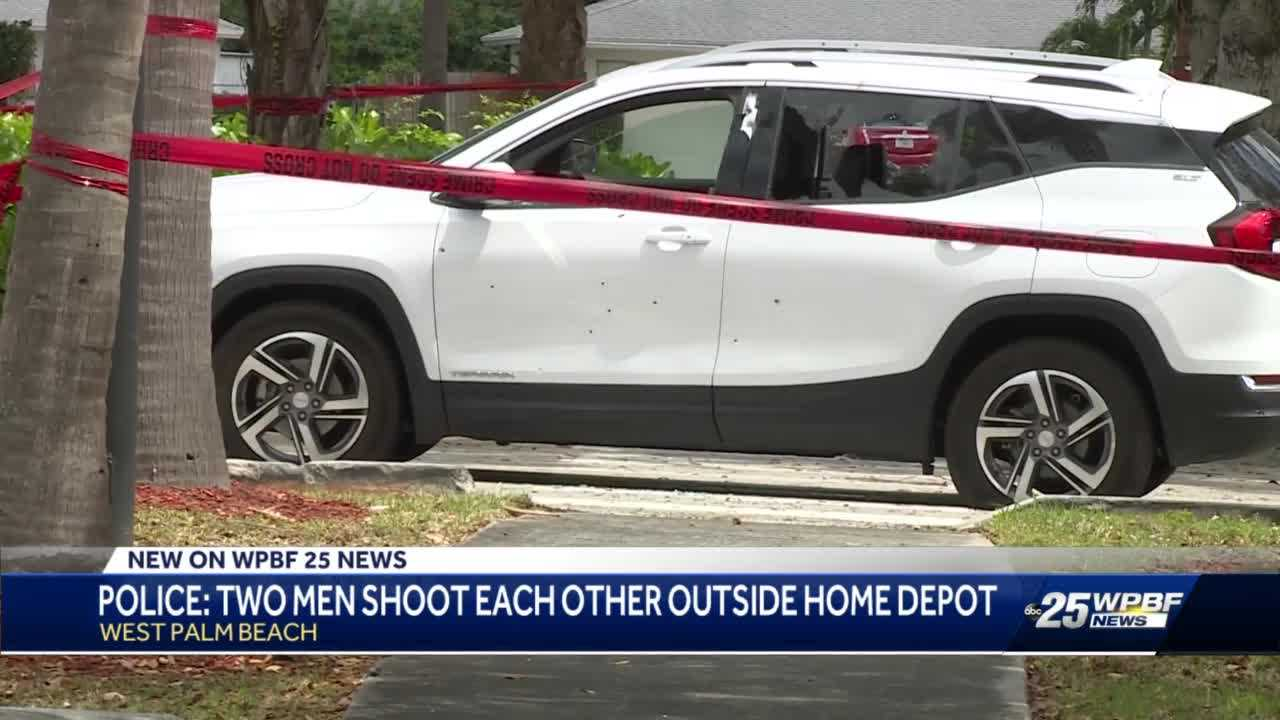 2 wounded in shooting outside West Palm Beach Home Depot