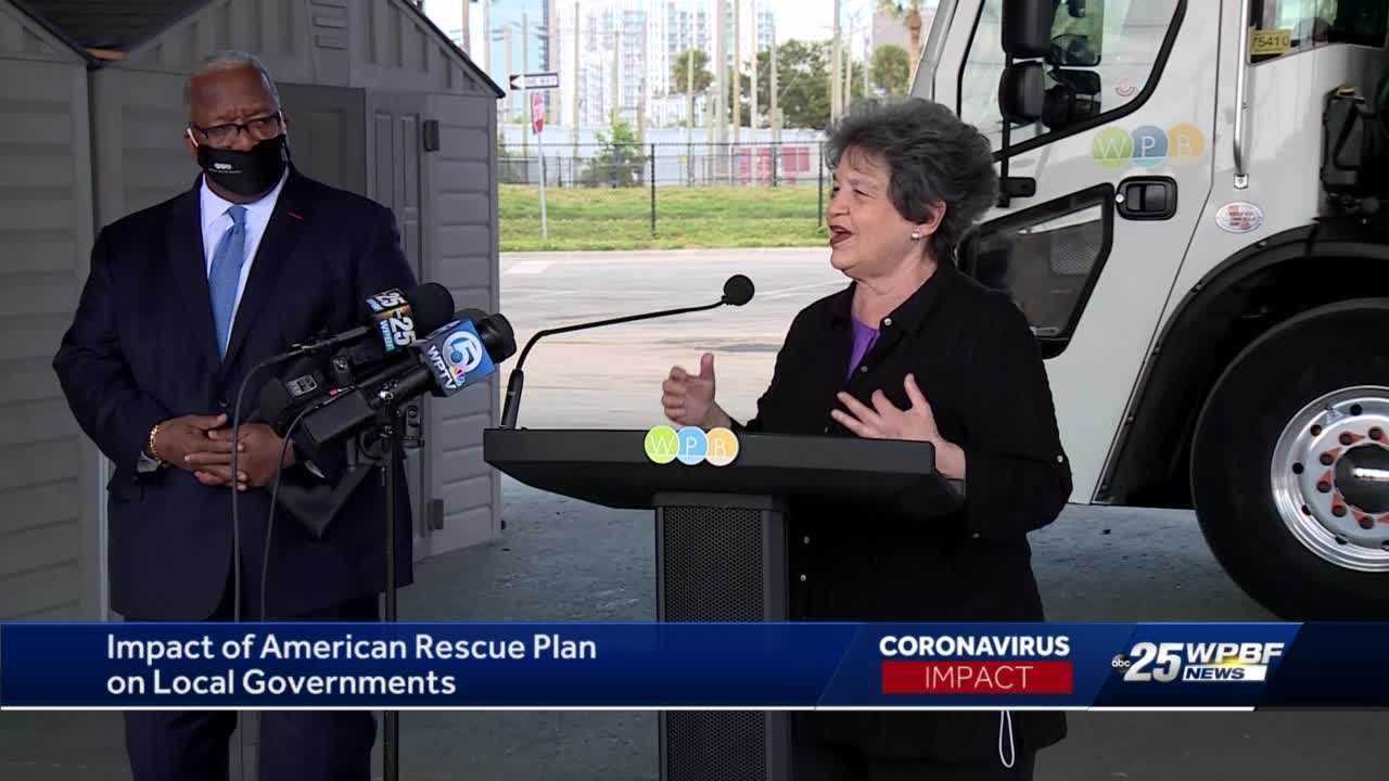 Rep. Lois Frankel says COVID-19 relief plan will bring millions to Palm Beach County
