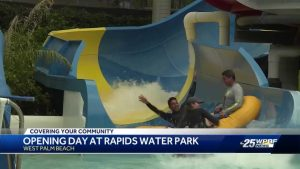 Rapid's Water Park opens for season
