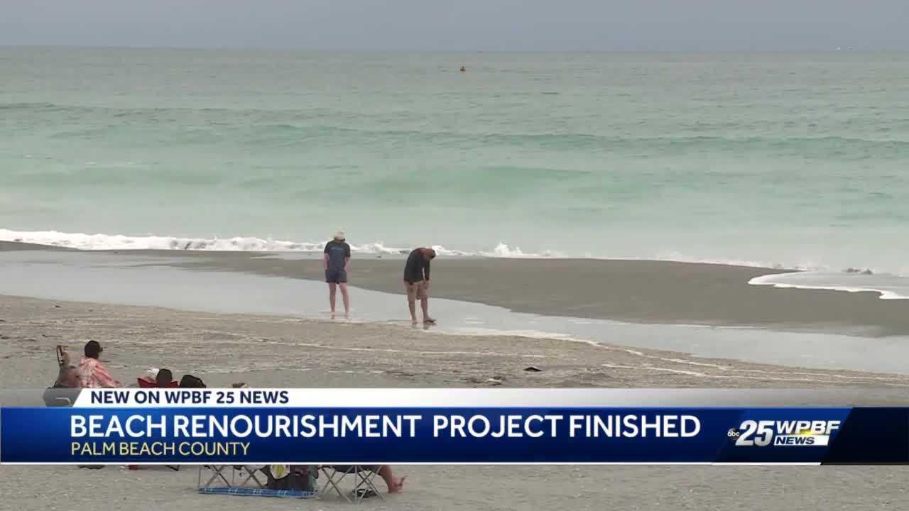 Multimillion dollar beach project wraps up