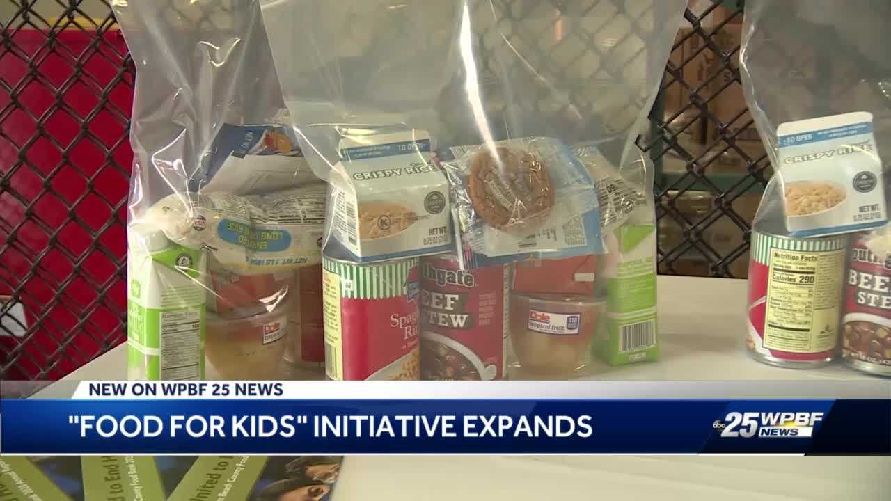 Major donation means more food for kids and families