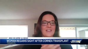 'He is still able to help people': Tequesta mom meets family of cornea transplant donor