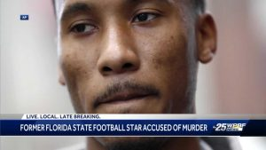Former NFL player charged with murder in Lake Park