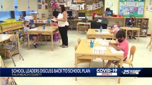 Palm Beach County School District lays out school plan